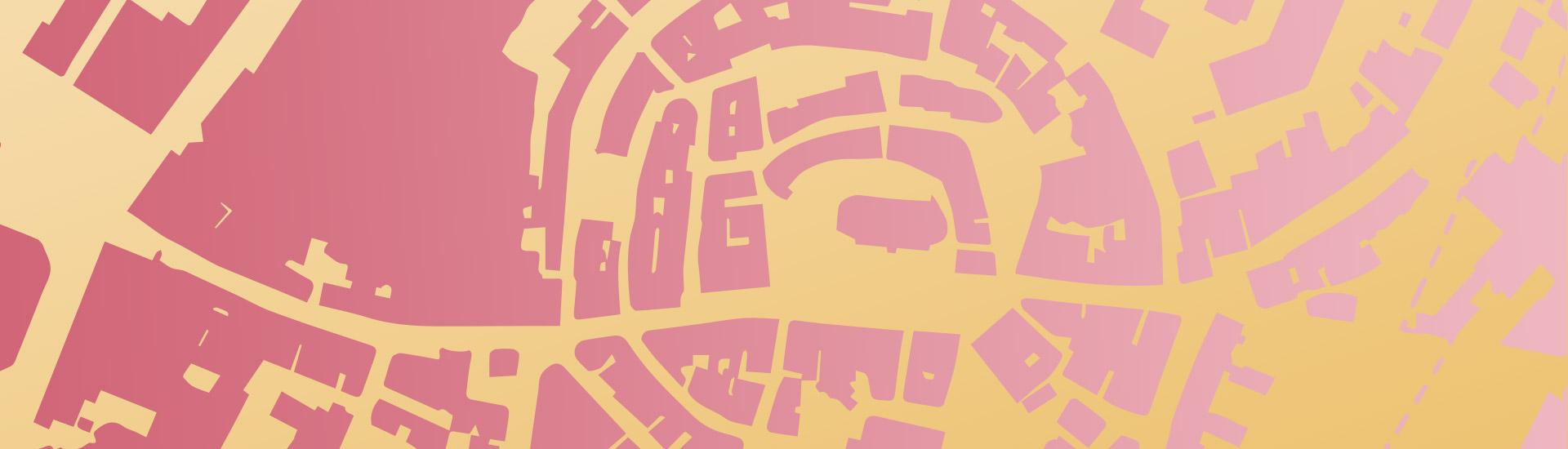 Lüdenscheid Altstadt Gold-Rosa