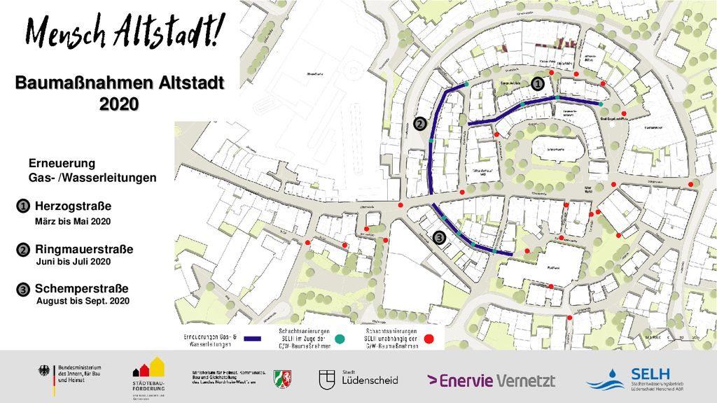 thumbnail of Baumaßnahmen im Zuge der Altstadtsanierung 2020